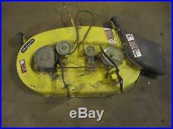 John Deere L110 42 easy level mower deck