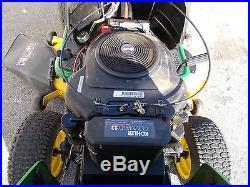 John Deere L130 Riding Mower 23 Hp Kohler v Twin 48' Hydro Low Hours