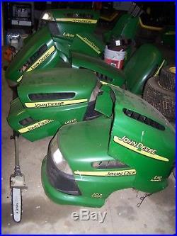 John Deere LA110 LA120 LA125 LA135 LA145 LA155 LA165 Complete Lawn Mower Hood
