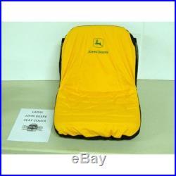 John Deere Lawn Mower & Gator Seat Cover Large 18 Seat LP92334