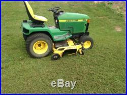 John Deere Model 445 Riding Lawn Mower Garden Tractor 60 Deck