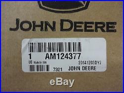 John Deere OEM Fuel Shut Off Solenoid AM124377 3375 375 675 655 755 855 955 F935