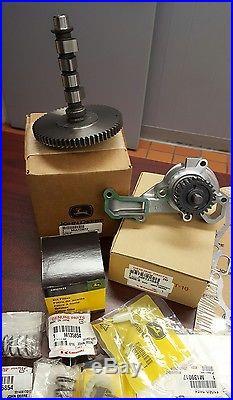 John Deere Oem Camshaft Water Pump Gasket Kit 425 445 Mia12872 Am134585
