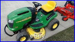 John Deere Riding Mower L108 42 in Deck 18.5 hp