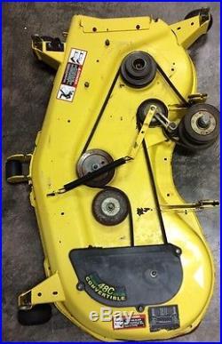John Deere SST18, 48 Mower Deck, Model 48C Convertible