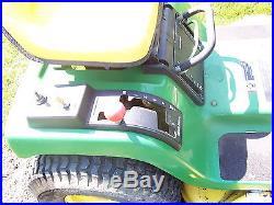 John Deere STX38 Riding Mower