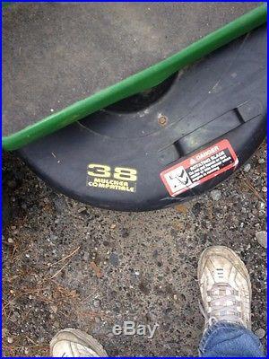 John Deere STX 38 Hydro Riding Lawn mower