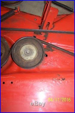 John Deere Scotts S2554 54 Mower Deck AM128609 READ DESCRIPTION PICKUP ONLY