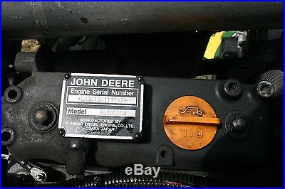 John Deere Tractor Mower
