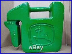 John Deere Weights Part # UC13263 (Set of 2) OEM 42lb Suitcase Style