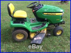John Deere X300 Garden Tractor Lawn Mower 42 Deck