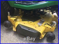 John Deere X495 Lawn Tractor 54 Diesel