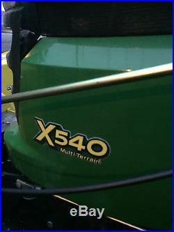 John Deere X540 Lawn And Garden Tractor