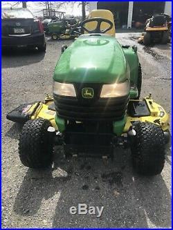 John Deere X585 Garden Tractor 4x4