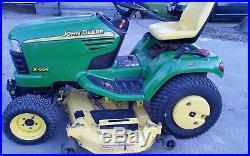 John Deere X595 Yanmar Diesel 4x4 62 Deck