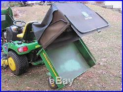 John Deere X728 Lawn Tractor, $9,000