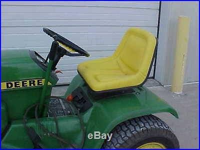 John Deere garden tractor seat 322,330,332,400,420,430