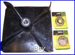 John Deere power flow fan rotor M71340, JD9217 38 46 48 50 54 Specific decks