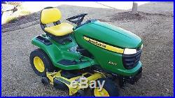 John Deere x320 Tractor with 48 in. Deck