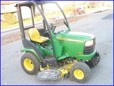John deer x700 48in cut, Riding Mower, John Deer Riding mower, tractor