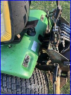 John deere 400 garden tractor Brantly Loader Backhoe TLB