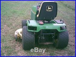 John deere 455 diesel lawn and garden tractor with 60 mower