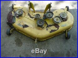 John deere L130 Mower deck 48