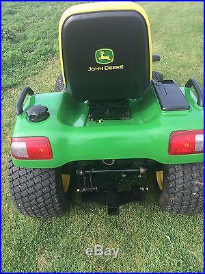 John deere X485 lawn tractor