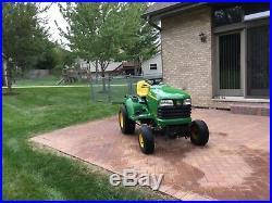 John deere garden tractor x475