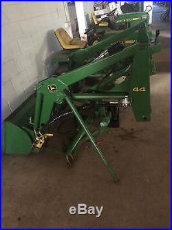 John deere model 44 loader for lawn tractors