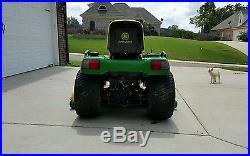 John deere x475 garden tractor mower