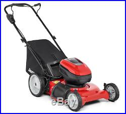 Jonsered L1621i 58 Volt 21 CUT HIGH WHEEL MOWER WITH 2 BATTERIES & THE CHARGER