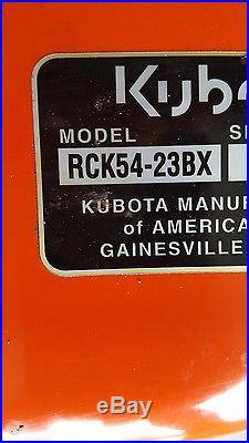 KUBOTA 54 MOWER DECK Brand new, never used