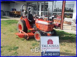 Kubota B2150 HST Tractor withBelly Mower