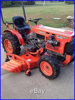 Kubota B7100 HST B7100HSD RC60-71B Deck Tractor Diesel Mower 4WD New Style