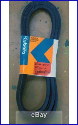 Kubota Deck Belt K5763-34710 K5763-34712 Rck60b23bx Rck60b-22bx Rck60-24b