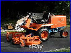 Kubota F- 2000 4wheel drive 60'' cut mower
