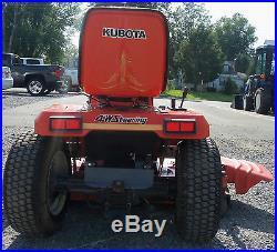 Kubota G1900 Diesel Riding Lawn Mower 54 Mower Deck