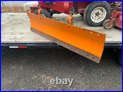 Kubota Model # B9397 Snow Plow Front Mount Compact Tractor Snowplow Hydraulic