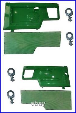 LH/RH Side Panels/Screen/Clips AM128982 AM128983 Fits John Deere 415 425 445 455
