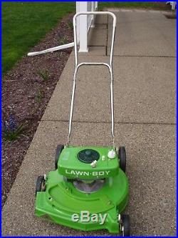 Lawn Boy 2-Cycle Mower 1977 Bricktop Brand New Lawnboy