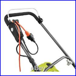 Lawn Mower Push Walk Behind Ryobi Corded Electric Portable Lightweight Storage