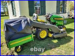 Lawn tractors used