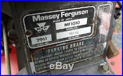 Massey Ferguson 1010 Compact 4x4 Diesel Tractor 3 pt 4 Wheel Drive