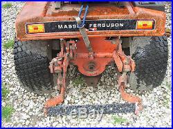 Massey Ferguson 1450 Garden Tractor 3PT rear PTO