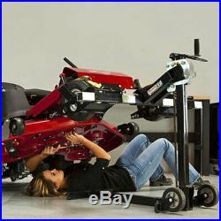 MoJack Flat Folding 500lb max Riding Lawn Mower Lift Jack(CertifiedRefurbished)