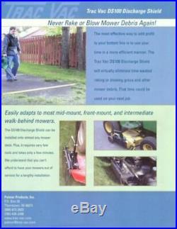 Most Mowers Zero Turn Mower Discharge Cover Best Quality DS201 Toro Great Dane