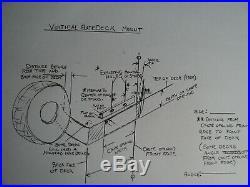 Mower deck discharge commercial chute blocker -OH SHUTE