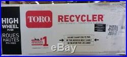 NEW! Gas Walk Behind Push Lawn Mower Toro Mulcher Bagger Bag Yard Recycler 21
