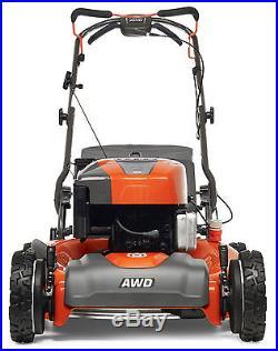 NEW Husqvarna HU725AWD 22 190cc Briggs Gas Engine Self Propelled AWD Lawn Mower